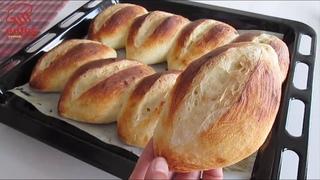 Hiç bu kadar lezzetli ekmek yememiştim.😋 Dünyanın en hızlı ekmek tarifi ⏩ YUMUŞAK sandviç ekmeği👌