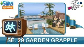 Sims FreePlay 🏃♀️📺| SIMCHASE 29 | GARDEN GRAPPLE | (Early Access) 🔑