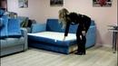 Еврософа Гретта на независимых пружинах - малогабаритный диван для маленькой комнаты