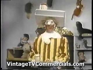 RARE First Ronald McDonald commercial