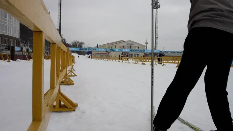 На Биатлоне катались на лыжах с Владиславом 22 02 2020 г ( 1 часть )