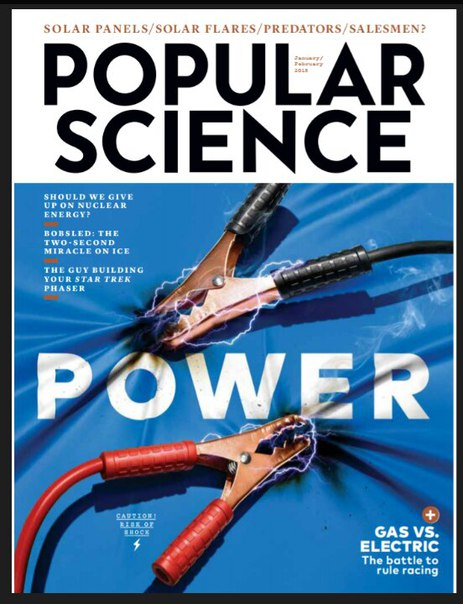 Popular Science - February 2018  USA