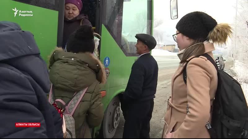 Полиция жөнсіз тоқтатып жұмыс істетпейді Автобус жүргізушілерінің шағымы
