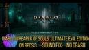 Diablo III Reaper of Souls Ultimate Evil Edition on RPCS3 -sound fixed-NO CRASH- 30.08.2020