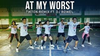 AT MY WORST - Pink Sweat$ ft. Dj Rowel | tiktok Remix | Zumba Dance Fitness | BMD Crew