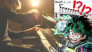 My Hero Academia - You say run! (piano cover)