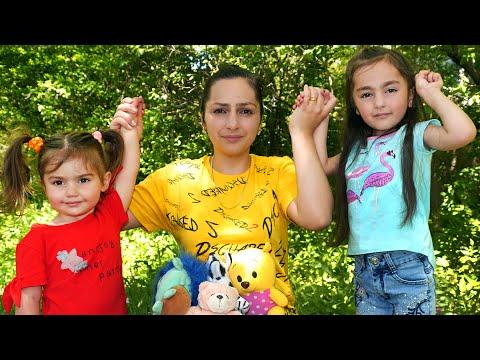 1 июня в день защиты детей Аревик и Арина устроили челлендж
