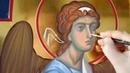 Wax tempera in icon painting. Энкаустика в иконописании
