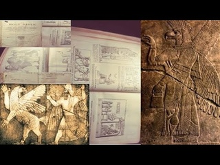 Bible from the 1800s with Egyptian, Sumerian And Anunnakis images?