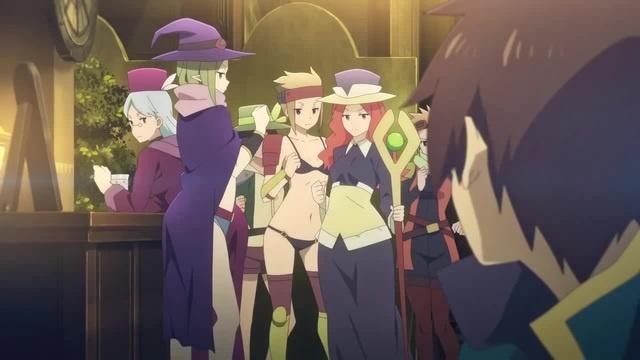 Anime name KonoSuba Gods Blessing on this Wonderful World! Legend of Crimson Flo Rida - Whistle AMV anime MIX anime R