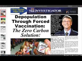 Depopulation Through Forced Vaccination The Zero Carbon Solution