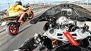Yamaha R1 сделал мотоцикл BMW S1000RR за 1.5 МЛН - Устроили гонки на на трассе