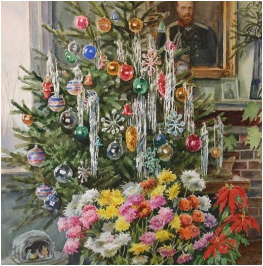 Рождество и Новый год в царской семье. Часть вторая., изображение №18