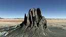 Одна из самых загадочных скал на Земле Шипрок Shiprock