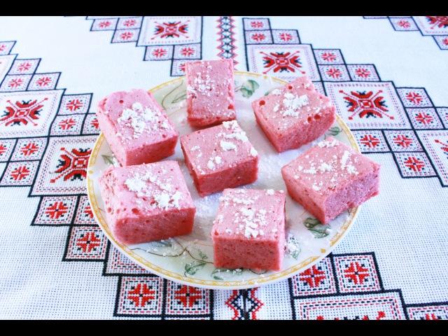 Рахат-лукум рецепт из клубники в домашних условиях Rahat-lokum Як приготувати рахат-л...