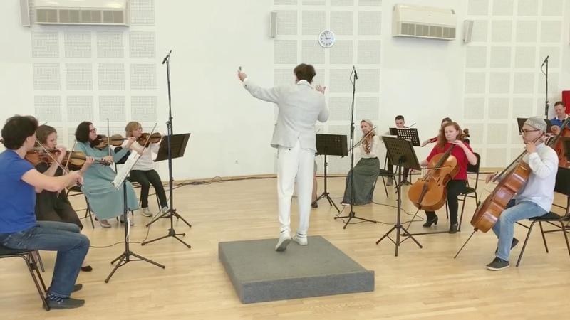 С Барбер Адажио для струнных инструментов