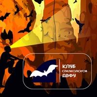 Логотип Клуб спелеологов ДВФУ