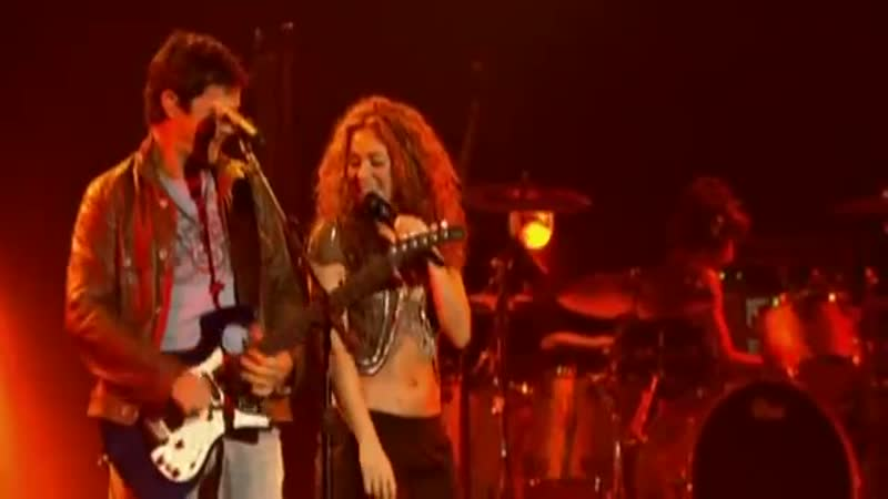 Shakira Alexandro Sans La