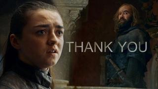 Arya & Sandor // Thank You