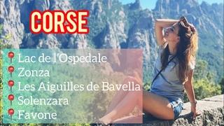 Corse. Lac de l'Ospedale,Aiguilles de Bavella,Favone. Корсика. English,French and Russian Subtitles