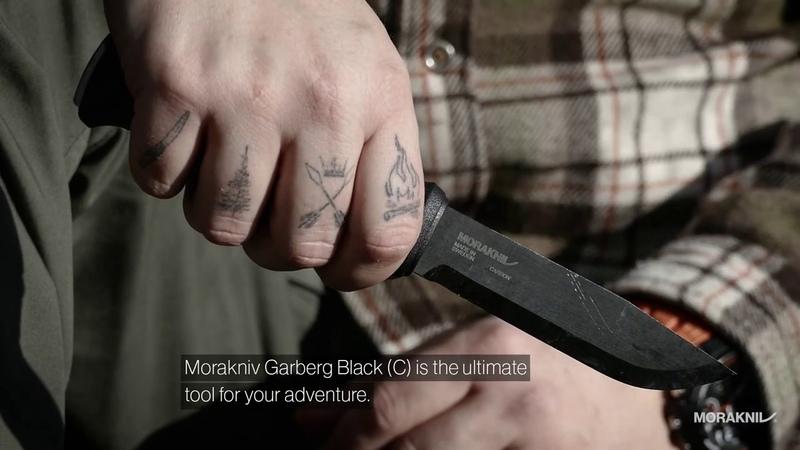 Morakniv Garberg Black C with Polymer sheath