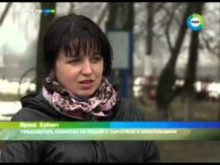 Сухой закон вывел белорусских фермеров в передовики, д.Оснежицы, Брестская обл