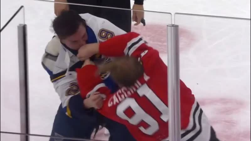 Vince Dunn And Drake Caggiula Let Fists Fly After Big Hit Along Boards