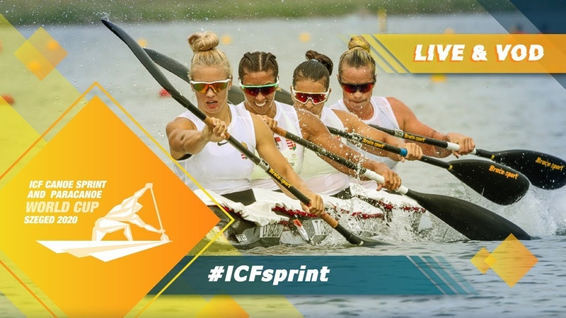 2020 ICF Canoe Kayak Sprint Paracanoe World Cup Szeged Hungary Day 3 Semis B Finals