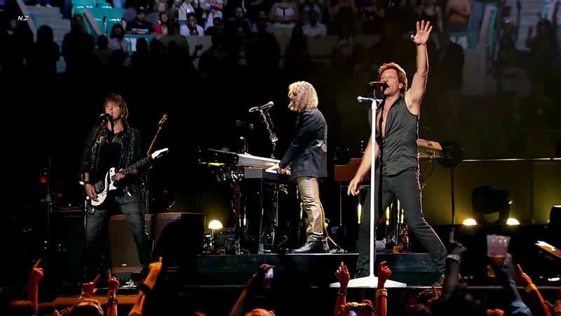 Bon Jovi Born to Be My Baby Live 2008 ᴴᴰ