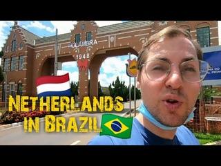 A Dutch man in Holambra 🇳🇱🇧🇷