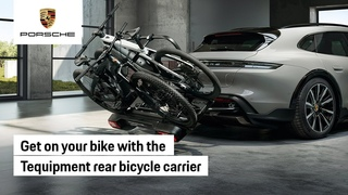 The Porsche Tequipment Rear Bicycle Carrier