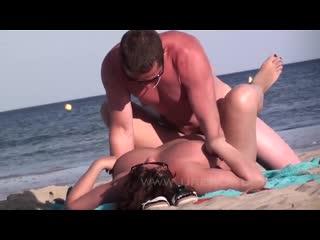 Sex on the nudist beach