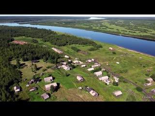 Косьювом — село на левом берегу реки Косью
