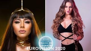 Eurovisision 2020 - Athena Manoukian Efendi - Chains On You Cleopatra