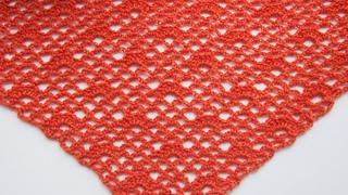 Шаль крючком быстро и просто. Простой узор для шали +схема  Урок 182 Shawl crochet fast and easy