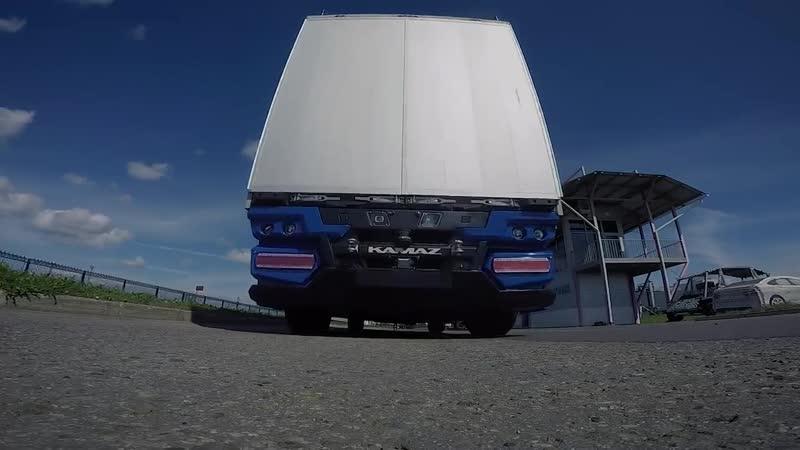Бескабинный беспилотник электромобиль КАМАЗ 3373 Челнок