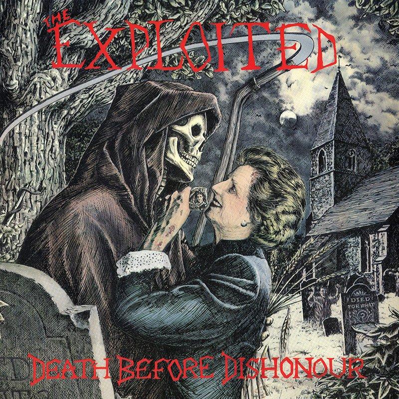 The Exploited album Death Before Dishonour