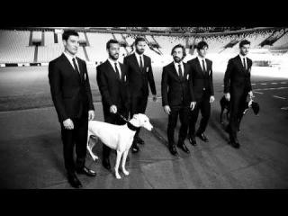 Игроки Ювентуса в рекламе Trussardi