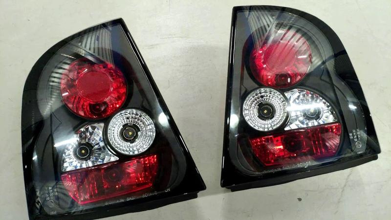 Задние фонари для SKODA Octavia I Liftback 96 00 черные