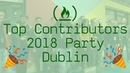 Top Contributors 2018 Party in Dublin for