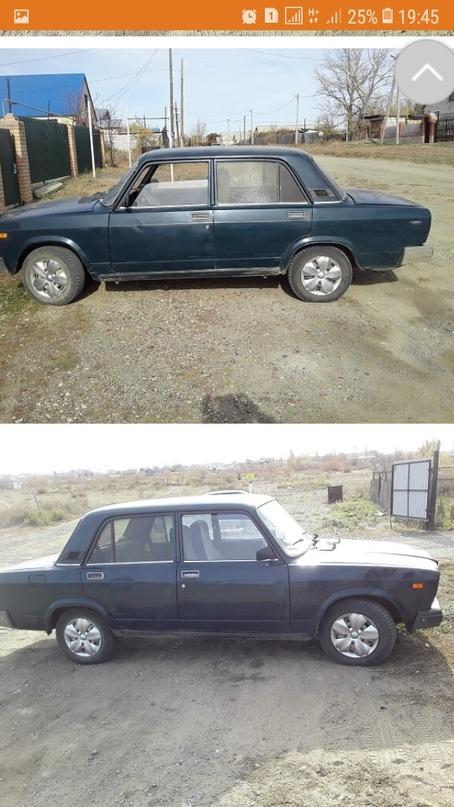 продам авто 2107 2005 .цена 45000 хорошая | Объявления Орска и Новотроицка №11003