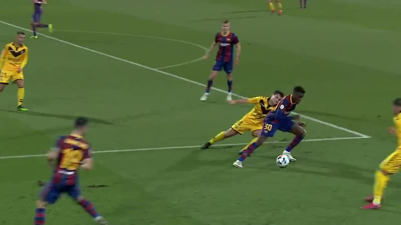 From LA MASIA to FIRST TEAM WHO IS ILAIX MORIBA ● Best goals skills moments 🔥