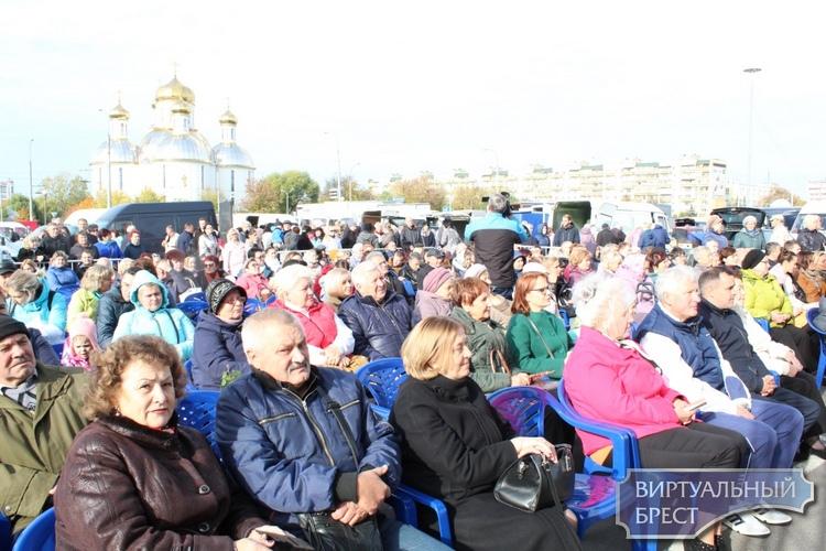«Мой адрес – Московский район»: как и кого в Бресте чествовали и награждали