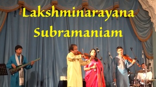 L. Subramaniam. Concert at the Beloselsky-Belozersky Palace, St. Petersburg. October 28, 2013