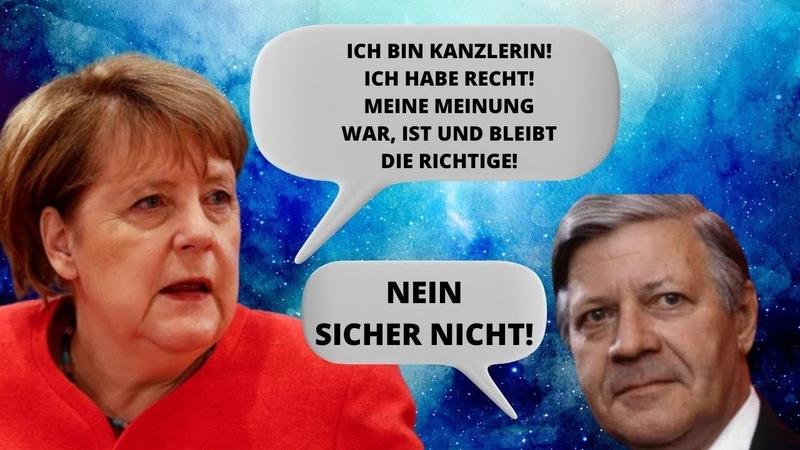 Frau Merkel ignoriert ihre eigene Vergangenheit Doch die Fakten aus dieser Zeit bleiben