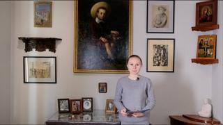 Видеоэкскурсия по экспозиции, посвященной российскому периоду жизни и творчества семьи Рерихов