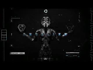 Cyberpunk cyborg tech