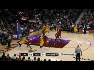 Kyrie Irving Shakes and Bakes for the Baseline Layup