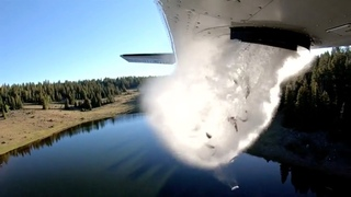 Watch: Fish dropped from plane to restock Utah lakes