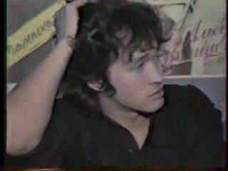 Виктор Цой.Интервью в Мурманске.Апрель 1989 (...как он все-таки умел на все ответить-правильно и кратко...)